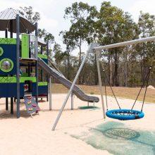 spring mountain lagoon park playground swings
