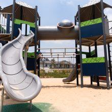 spring mountain lagoon park playground large slide