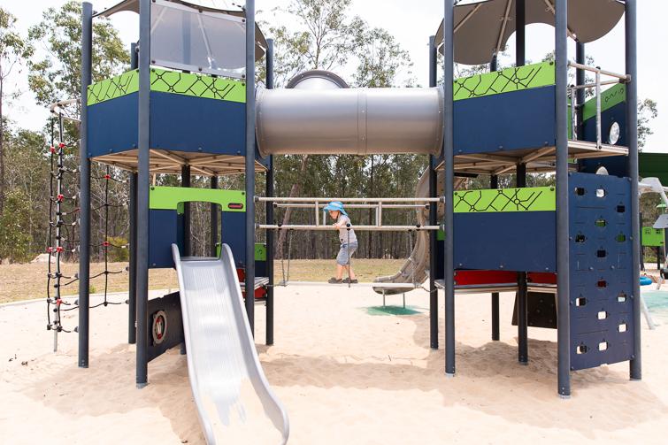 spring mountain lagoon park playground bridges