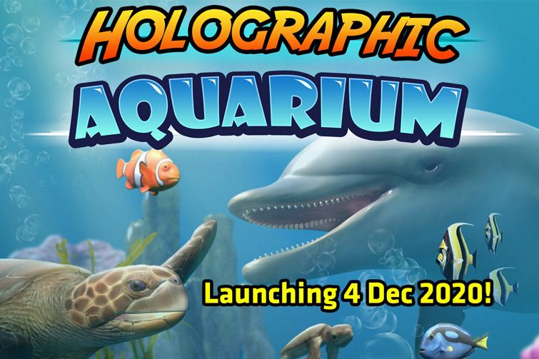 Holographic Aquarium launching December 2020
