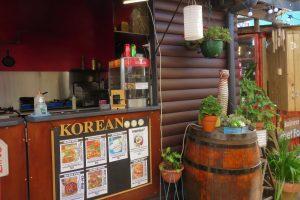 Korean food stall