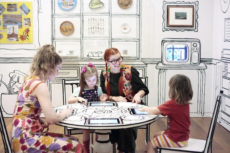 Museum of Brisbane - school holiday fun