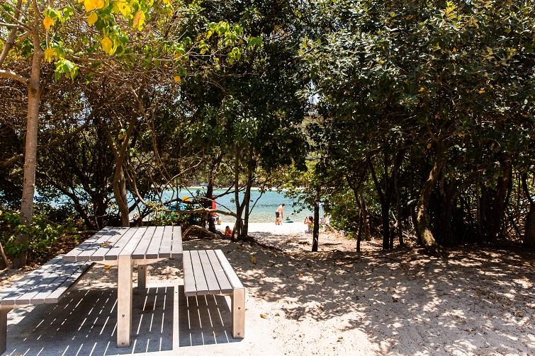 tallebudgera, picnic spot, shady gold coast picnic spot
