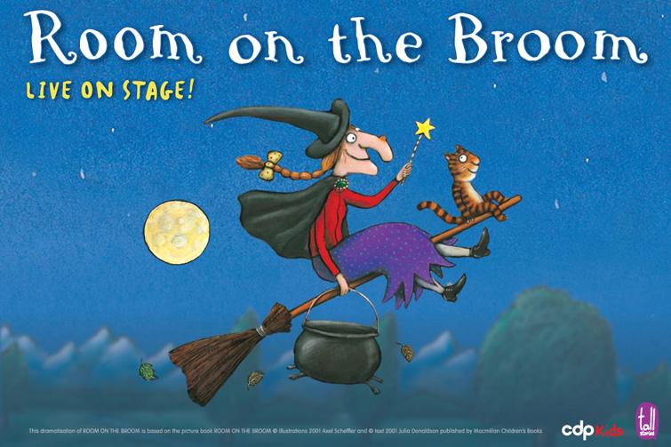 Room on the broom live on stage