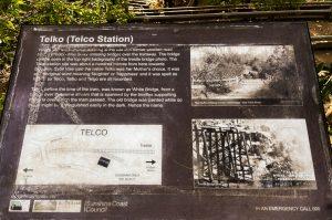 Buderim tramway walk telco station