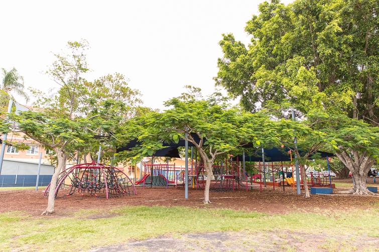 gregory park milton playground.
