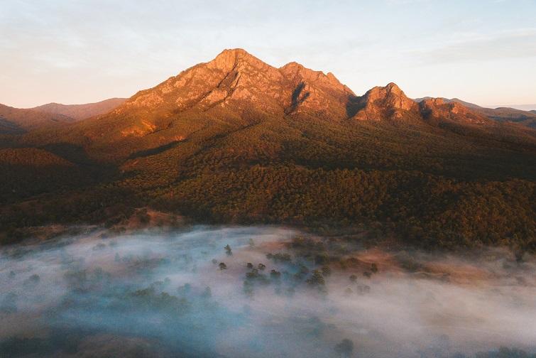 Picture of Mt Barney in the Scenic Rim