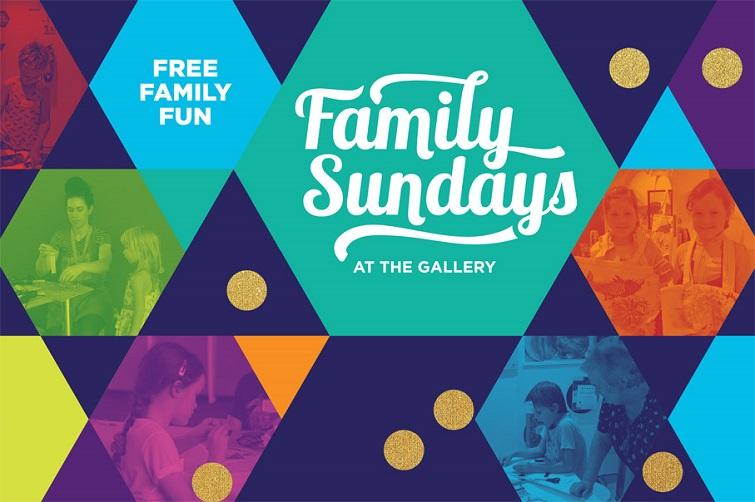 Sundays at teh Gallery Redland Art Gallery family day