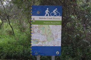 preston road park bikeway