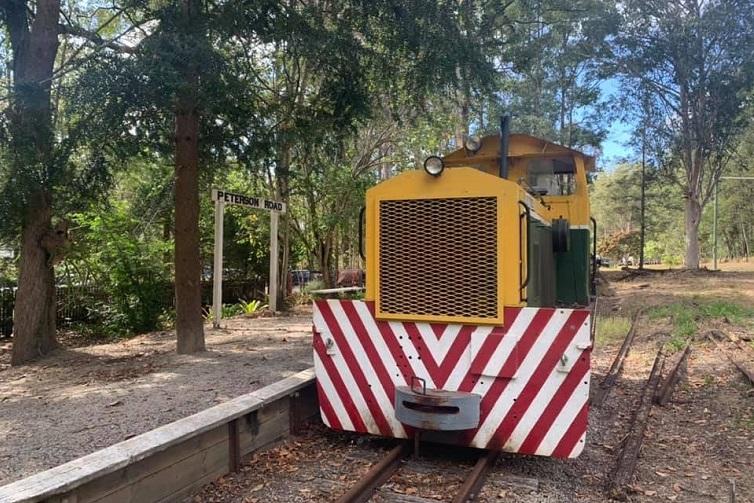 woodford railway train