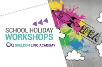 promo image for Sheldon LINQ Academy school holiday workshops