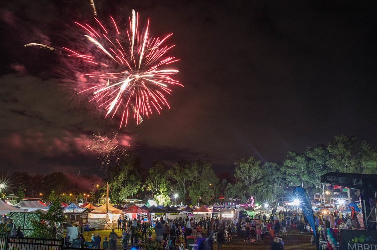 fireworks the hills festival