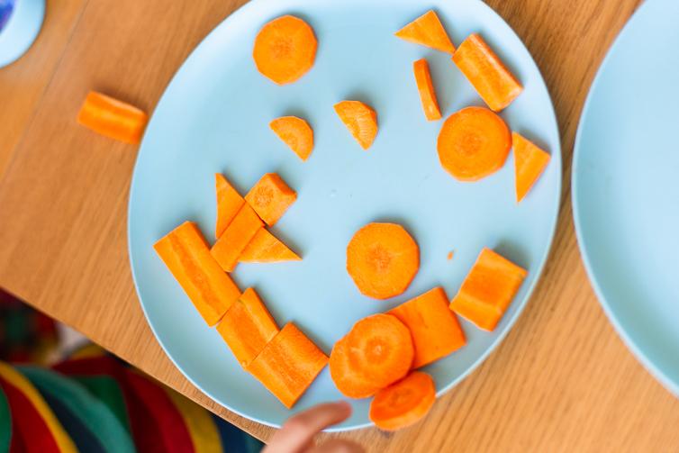 carrot shape scene