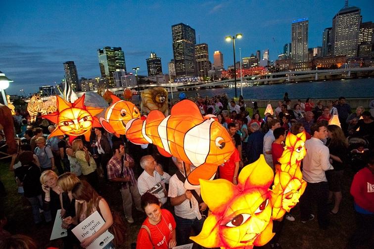 lantern parade south bank