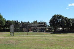 Cricket nets at Blatchford Park.