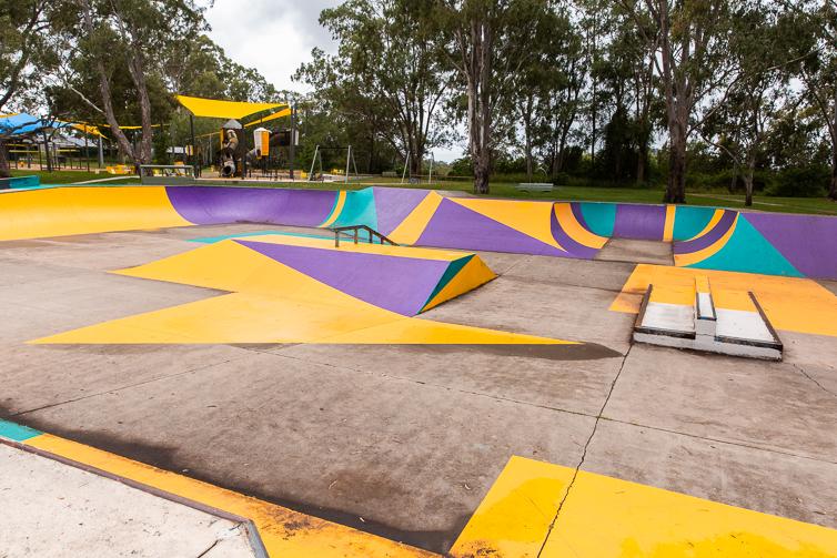 albert river park skate bowl