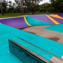 albert river park skate rails