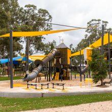 albert river park large playground