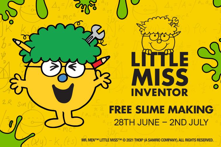 skygate school holiday slime workshops Little Miss Inventor