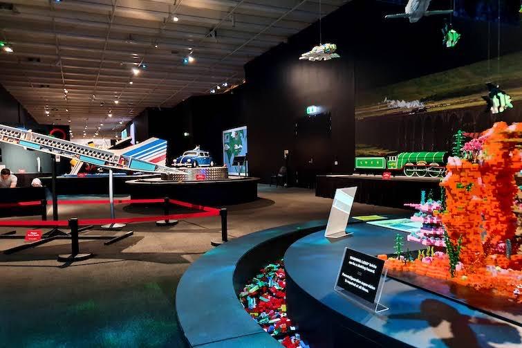 Lego exhibition.