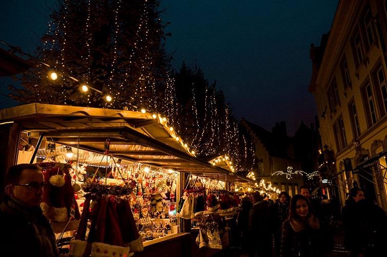 Winter markets evergreen festival