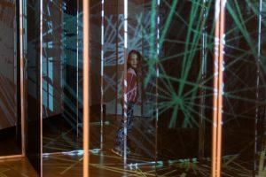 IAG winter 2021 exhibit in the maze