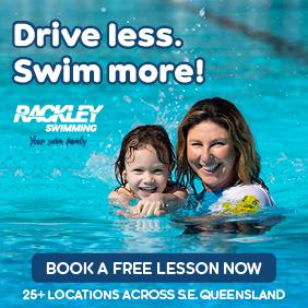 free swimming lessons at rackley swim school.