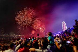 fireworks riverfire brisbane festival south bank