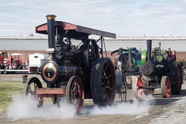 steam fair old petrie town
