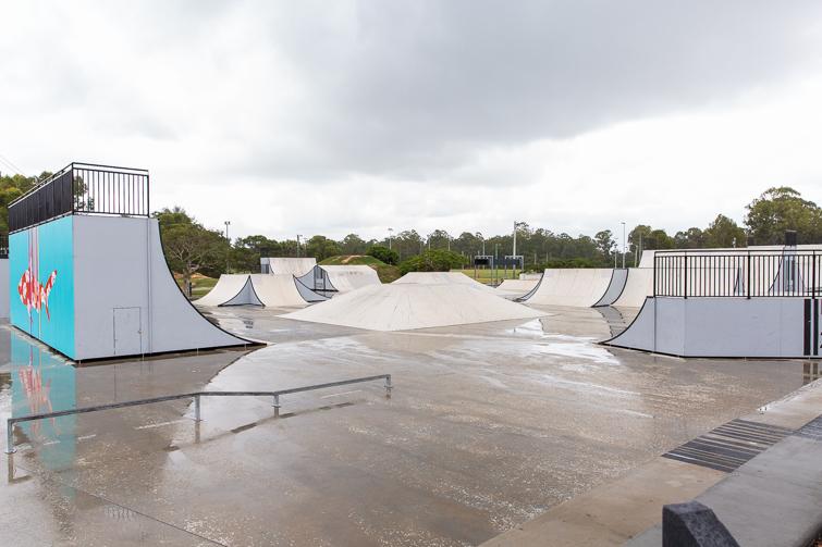 Beenleigh Skate and BMX park rails