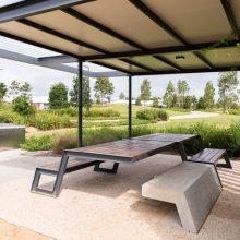 Everleigh Park picnic table