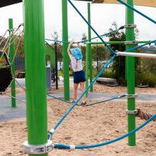 Everleigh Park balancing rope
