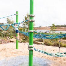 Everleigh Park rope climb