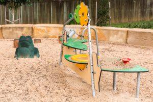 homestead park sand play