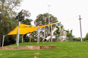 homestead park shade over slide