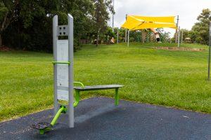 homestead park exercise equipment near playground