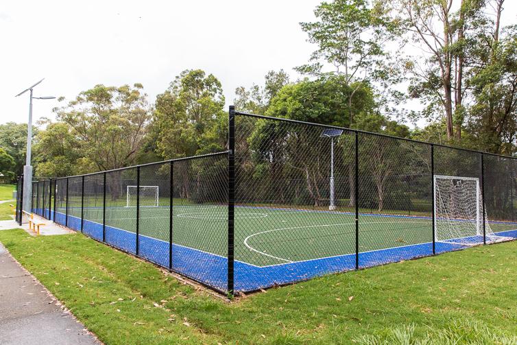 homestead park soccer pitch