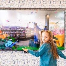 Ipswich Children's Library interactive butterflies