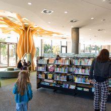 Ipswich Children's Library walking in