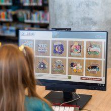Ipswich Children's Library child friendly computers