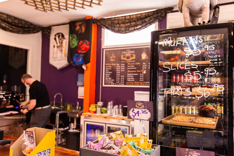 Caudrons cafe and emporium cafe