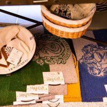 Caudrons cafe and emporium floor mats