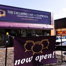 Caudrons cafe and emporium now open