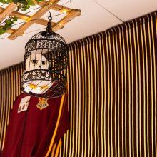 Caudrons cafe and emporium themed decor