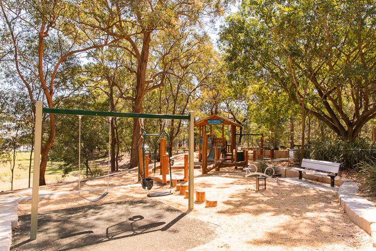Balmoral Park swings