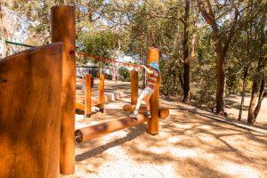 Balmoral Park rolling log