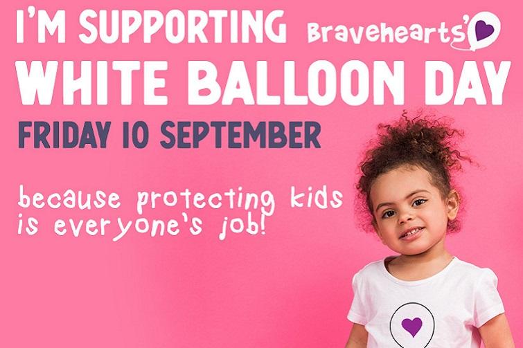 braveheart white balloon day