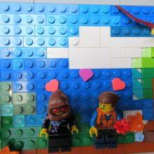Colourful Lego scene at Coffee n Bricks Cafe.