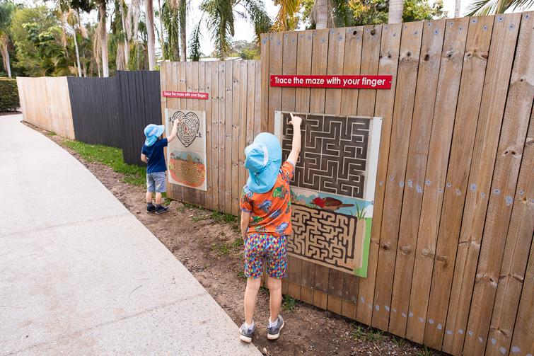 Bellingham Maze puzzles