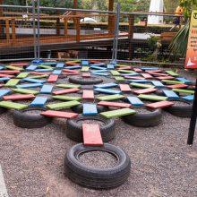 Bellingham Maze tyre puzzle